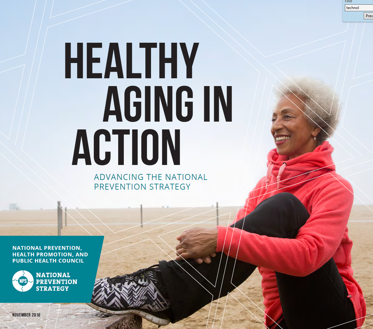 healthy aging in action  the surgeon general u2019s national
